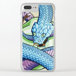 The Ancient Serpent Clear iPhone Case