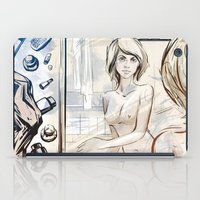 mirror iPad Cases featuring mirror by Vilebedeva