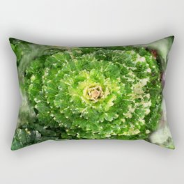 Green Zone Rectangular Pillow