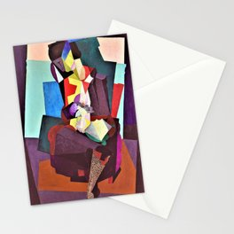 12,000pixel-500dpi - Motherhood, Angelina And The Child Diego - Diego Rivera Stationery Cards