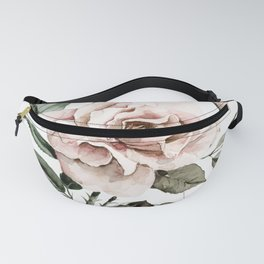 Faded Pink Rose Fanny Pack