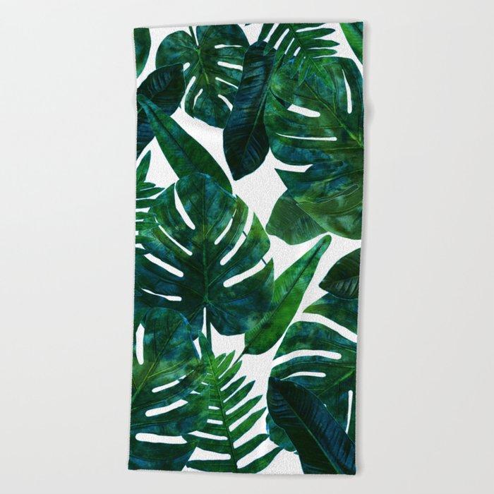 Perceptive Dream || #society6 #tropical #buyart Beach Towel