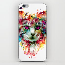Cat II iPhone Skin
