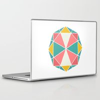 polygon Laptop & iPad Skins featuring Polygon by Juste Pixx Designs