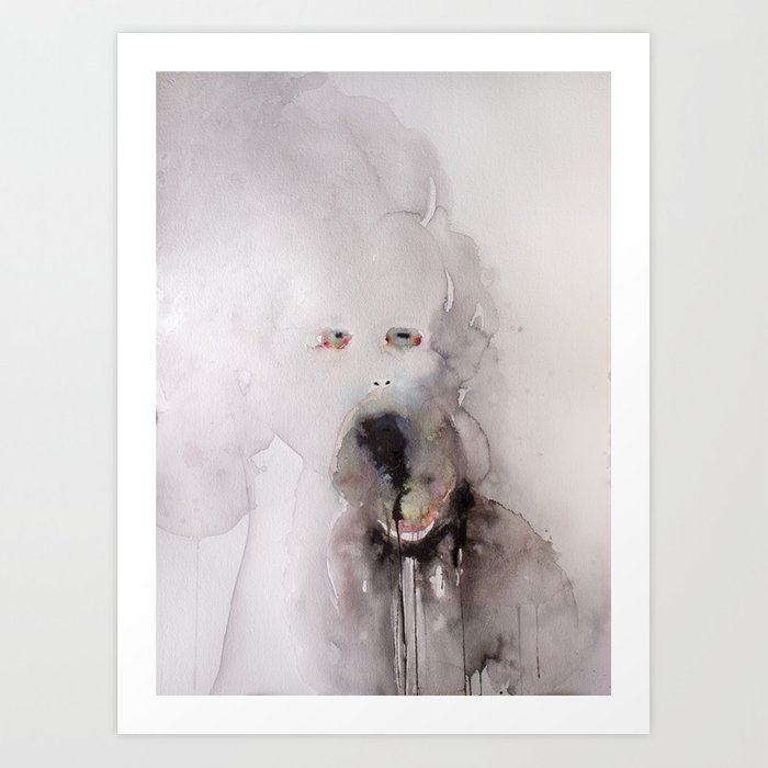 I don't want your love unless you know that I am repulsive, and love me even as you know it. (8) Art Print