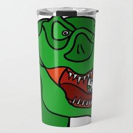 Green T-Rex Travel Mug