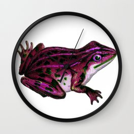 Pinky the Frog Wall Clock