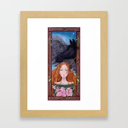Goddess of Magical Things Framed Art Print