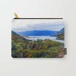 lake hawea new zealand road to lake Carry-All Pouch