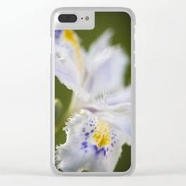 First flower of Spring time Clear iPhone Case
