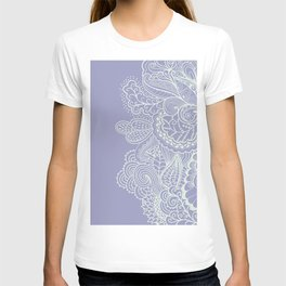 Abstract Nature in Ultraviolet T-shirt
