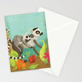 Babies on Backs Stationery Cards