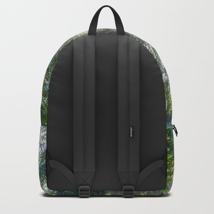 Sun Rays in a Forest Backpack
