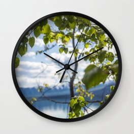 Leave(s) Me Be Wall Clock