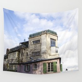 Montmartre Paris Wall Tapestry