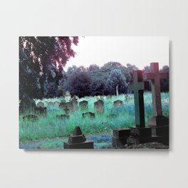 Meet You At The Cemetery Gates Metal Print