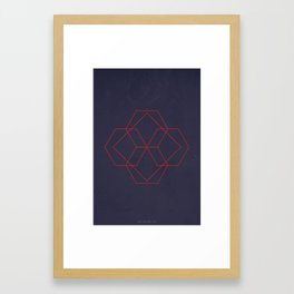 Geometric No.4 Framed Art Print