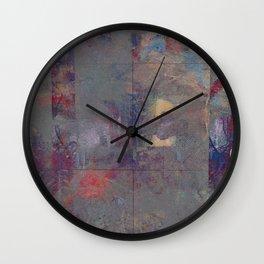sextet (disquiet one) Wall Clock