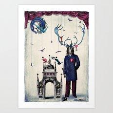 the emperor's new clothes Art Print