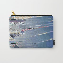 Invisible drops Carry-All Pouch