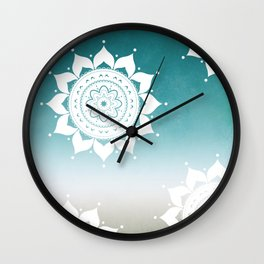 Mandala Pattern #1 Wall Clock
