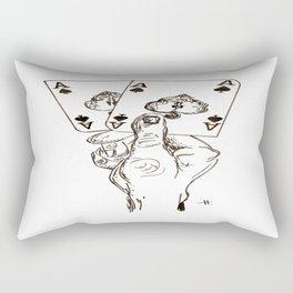 bien jugado Rectangular Pillow