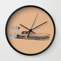 X-34 Landspeeder Wall Clock