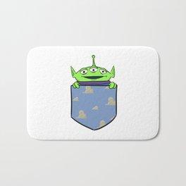 Toy Story Alien Pocket Bath Mat