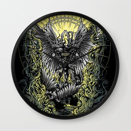 Paradise Lost - milton Wall Clock