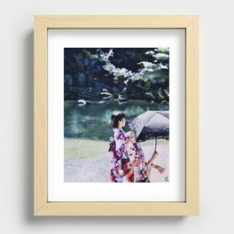 Kyoto   Acrylic Recessed Framed Print