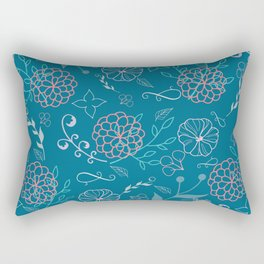 Flower Power 01 Rectangular Pillow