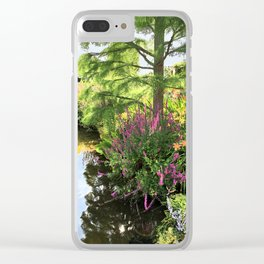 Hyde Hall in the blush of a summer Clear iPhone Case
