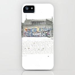 46 Fredrick Street iPhone Case