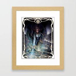 Justice: Egwene the Amyrlin Framed Art Print