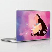 pocahontas Laptop & iPad Skins featuring Pocahontas by Skyla