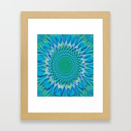 Hypnotix #1 Optical Illusion Framed Art Print