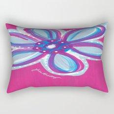 Dark Pink  Rectangular Pillow