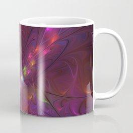 Colorful And Luminous Fractal Art Coffee Mug