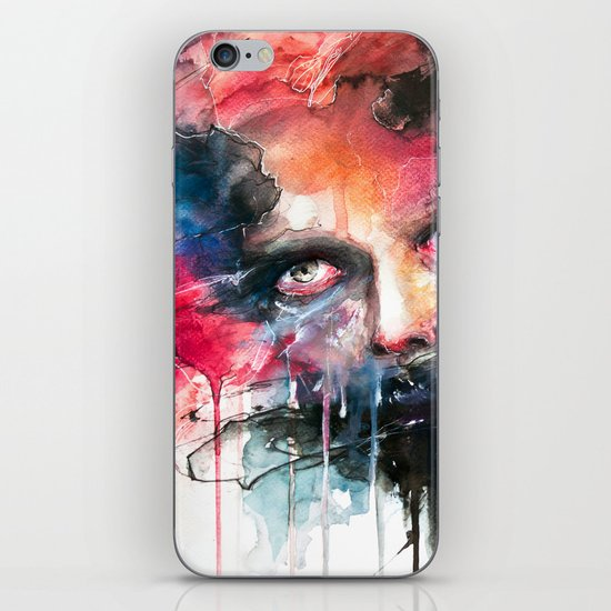 non parlarne mai iPhone & iPod Skin