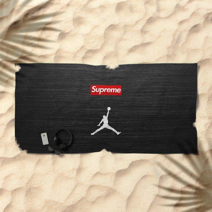 Jordan Sup Basketball Beach Towel