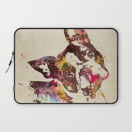 Boston Terrier Laptop Sleeve