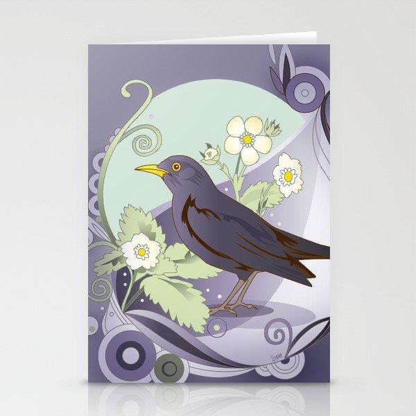 Blackbird Stationery Cards