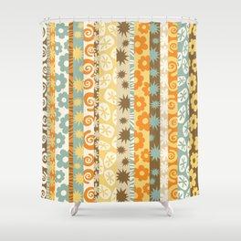 Tropical Mod: Autumn Shower Curtain