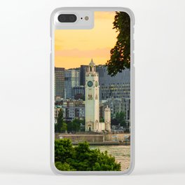 Montreal old p Clear iPhone Case