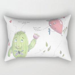 Unconventional Love Rectangular Pillow