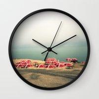 israel Wall Clocks featuring Ein Gedi II, Israel by LittleConquerors