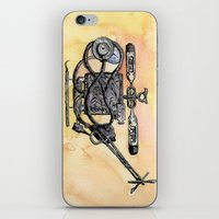 medical iPhone & iPod Skins featuring The Medical Chopper by Sean Greenberg Illustration