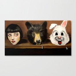 The Costume Shop Canvas Print