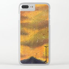 The End of the World #774 Clear iPhone Case