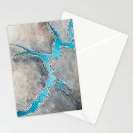 Sedimentary Topography Extended 2 Stationery Cards